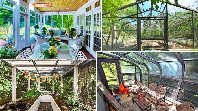 Green With Envy 7 Homes Greenhouses To Make Your Garden Grow