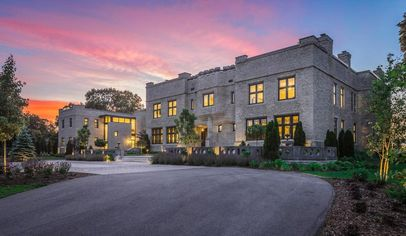 Royal Surprise: This Massive and Modernized $10.5M Castle in Rural Wisconsin