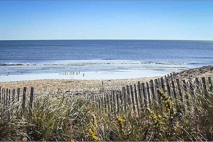 Beachfront property