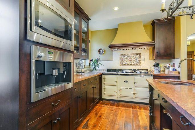 Kitchen with AGA stove