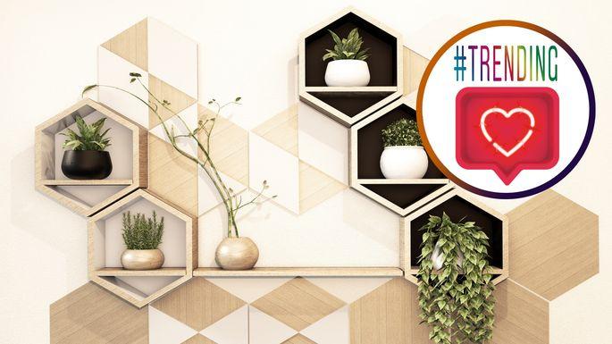instagram-foyer-honeycomb-shelves