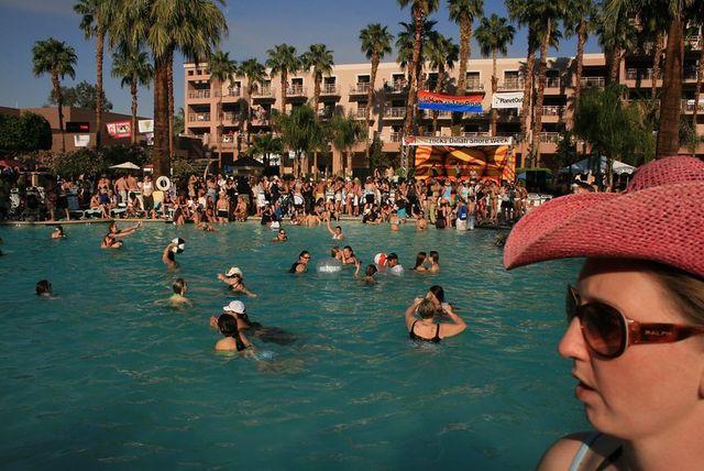 Dinah Shore weekend in Palm Springs