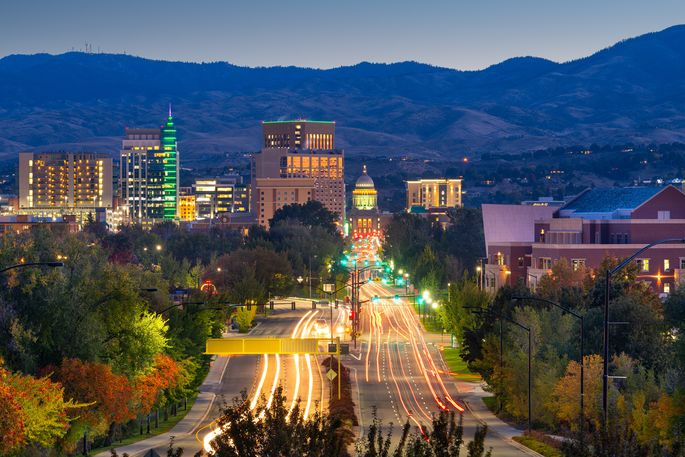 Boise, ID, was named one of 2021's top housing markets.