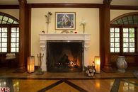Nick Nolte's Living Room Has 6 Fireplaces