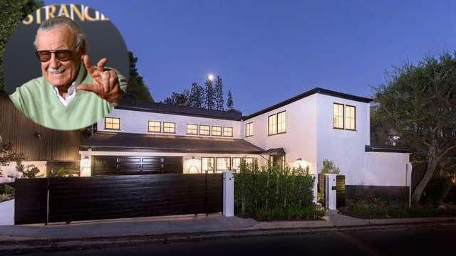 Stan Lee's former house