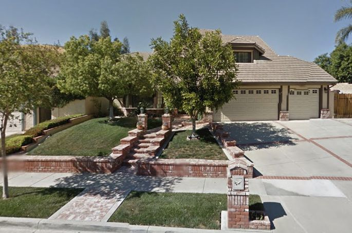 "The home featured in the movie ""Poltergeist"""