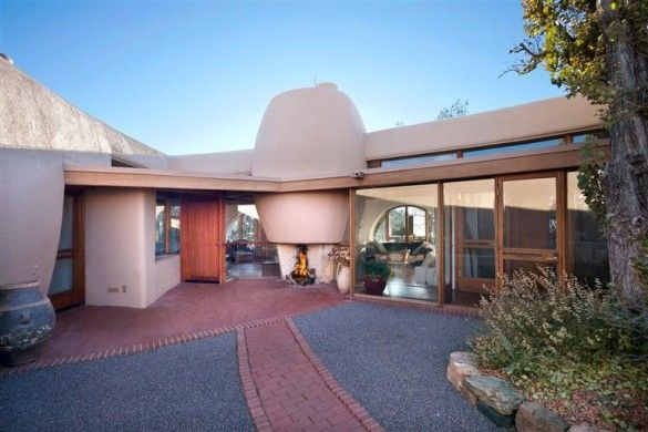 Up For Insanta Fe New Mexicois Frank Lloyd Wright S Pottery House The Only Adobe Structure Ever Designed By Celebrated Architect