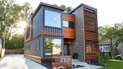This Stylish Shipping Container Home Is Nothing Like What You'd Expect