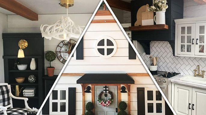 This Fixer Upper Dollhouse Is So Cute A Sneak Peek Inside