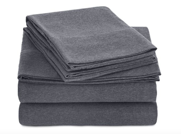 Line your mattress with sheets as soft as your favorite t-shirt.