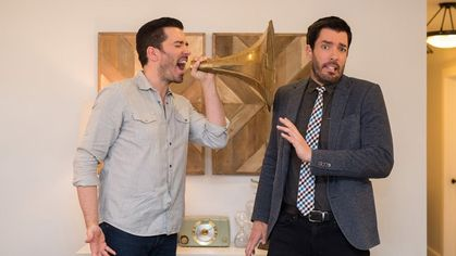 Property Brothers Jonathan and Drew Scott Go Back to the Future!