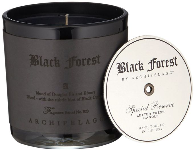A Black Forest candle sounds creepy but smells amazing.
