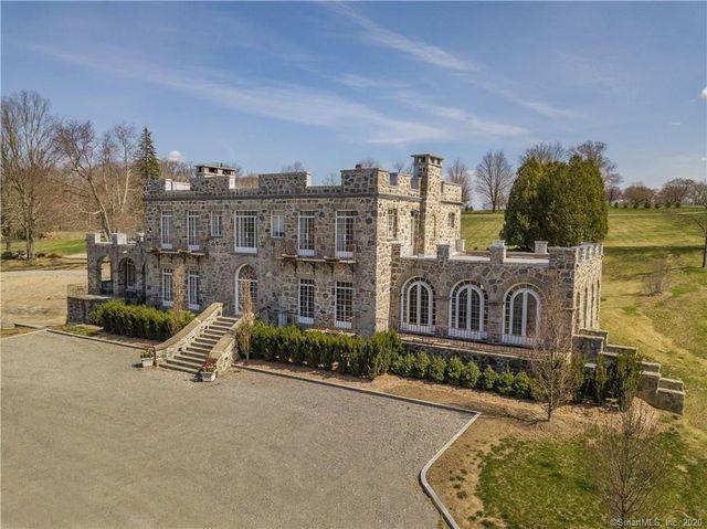 Monroe, CT castle exterior