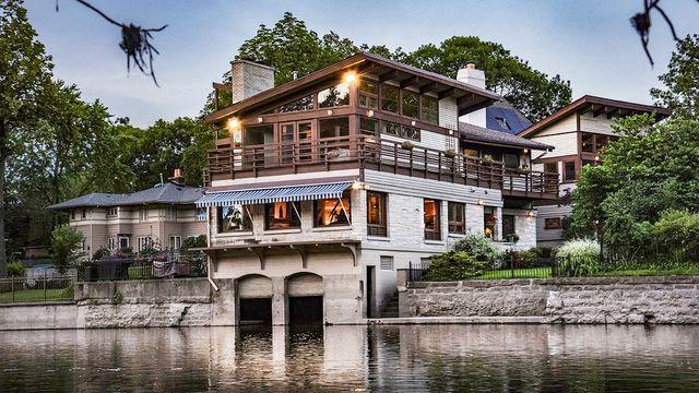 Historic Boathouse-Turned-Beautiful Mansion Floats Onto Market for $1.5M