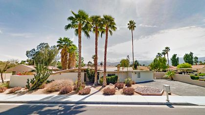 Mid-Century Modern Mania: Historic Wave House in Palm Desert Up for Auction