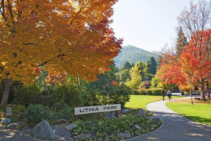 Lithia Park in Ashland, OR