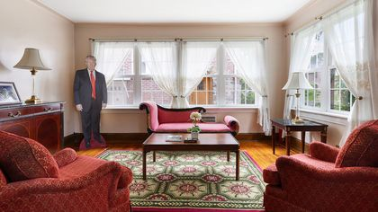 President Trump's Childhood Home Can Be Yours—for a Huge Price