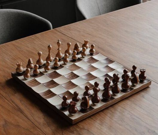 Up the competition with a chess set.
