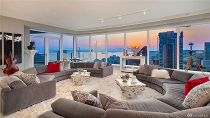 'Fifty Shades' Seattle Penthouse Lists for $11.5M