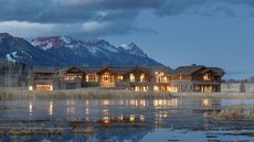 226-Acre Ranch in Wyoming With Massive Mansion Is Most Expensive New Listing