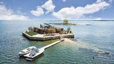 Private Island Paradise Listed for $13M Sits Just 30 Minutes From Manhattan