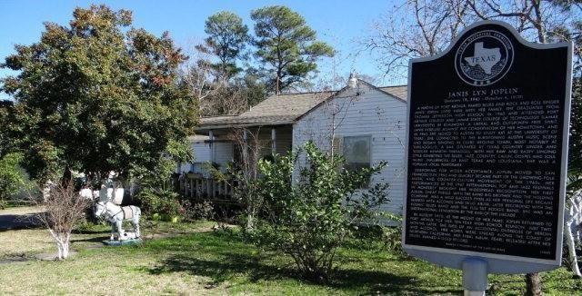 Janis Joplin's childhood home