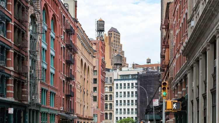Tribeca in New York City