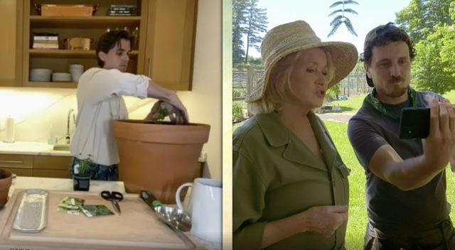 Martha Stewart and Antoni