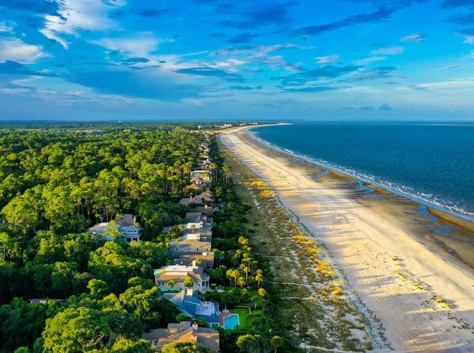Hilton Head Island, SC, in Beaufort County, is a vacationer's paradise. But it's also prone to flooding.