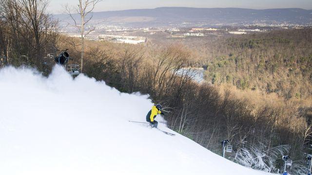 Scranton skier