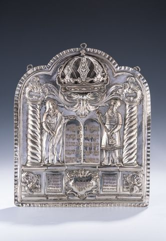 This Torah shield was auctioned for $50,000