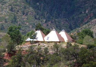 Pyramid Home in Manitou Springs Channels Its Inner Egypt (PHOTOS)