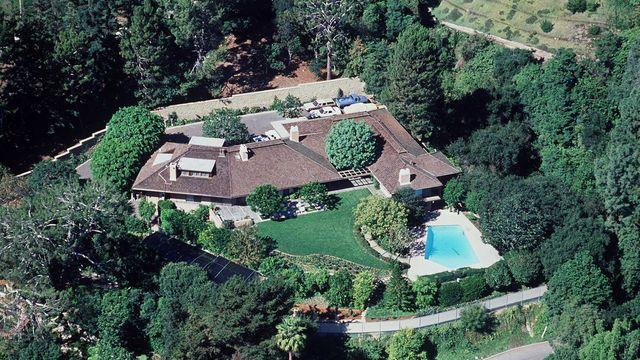 Bel-Air home of Ronald and Nancy Reagan.