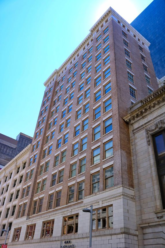 The former Swetland Building, which housed offices, has been transformed into a luxury hotel and apartment building in Cleveland.