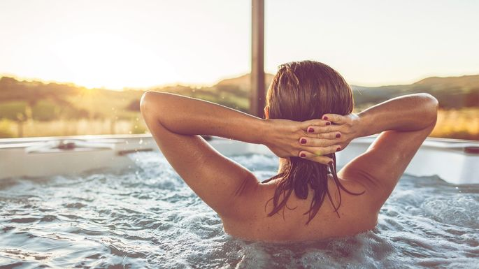 A hot tub can definitely add appeal to your property.