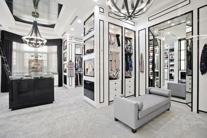 The Chanel boutique closet