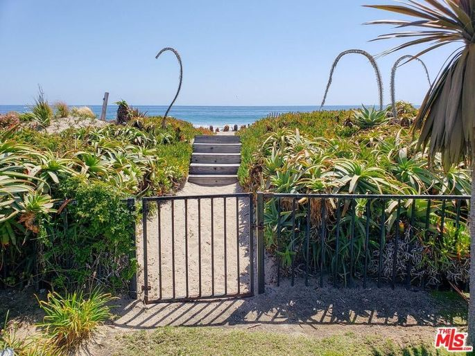 Gate leading to the beach
