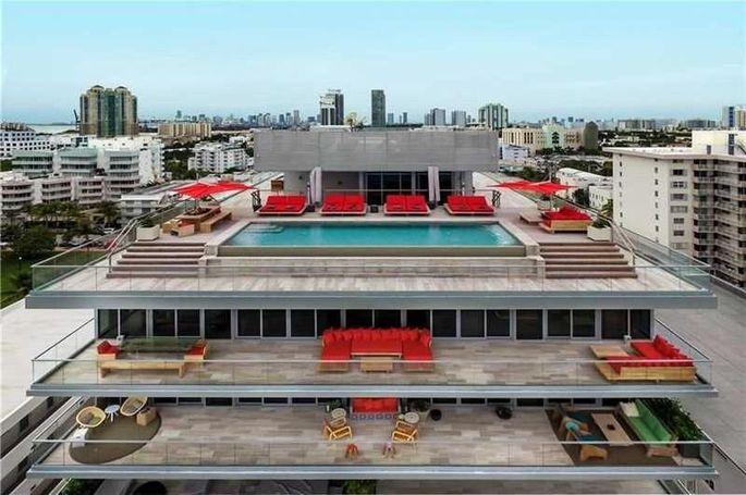 321 Ocean Dr. Penthouse, Miami Beach, FL, listing for $47.5 million