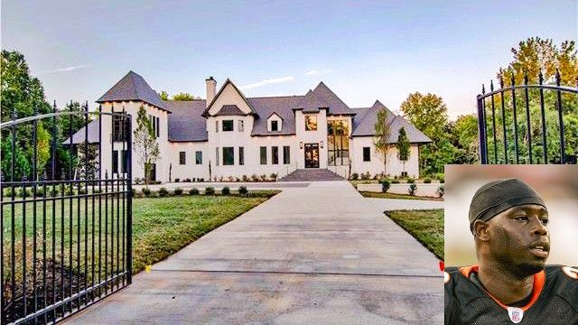 Texans Star Johnathan Joseph Leaving His Carolina Mansion