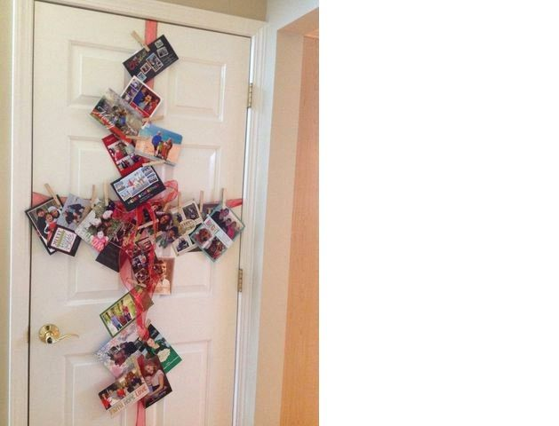 Wrap your door like a giant present!