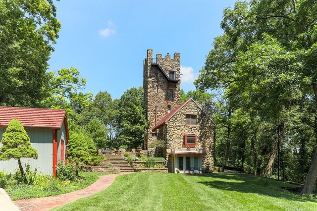 Jackson MI stone castle