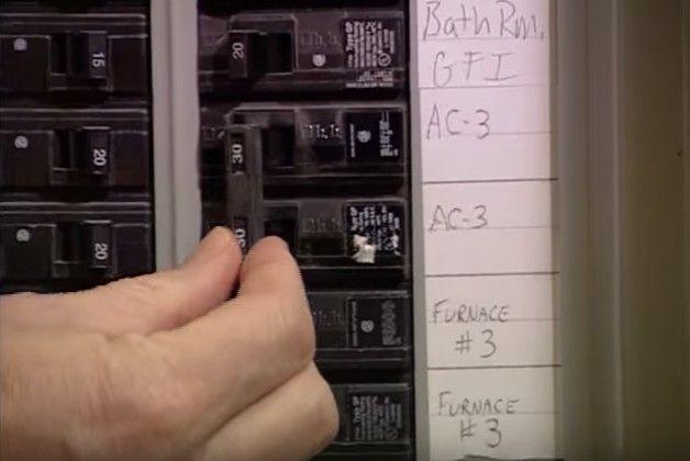 HVAC circuit breakers
