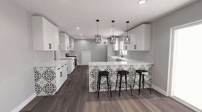 El Moussa's kitchen plans look amazing!