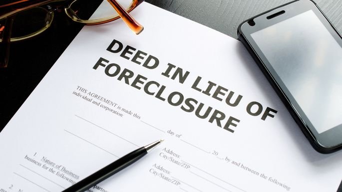 What Is A Deed In Lieu Of Foreclosure Realtor