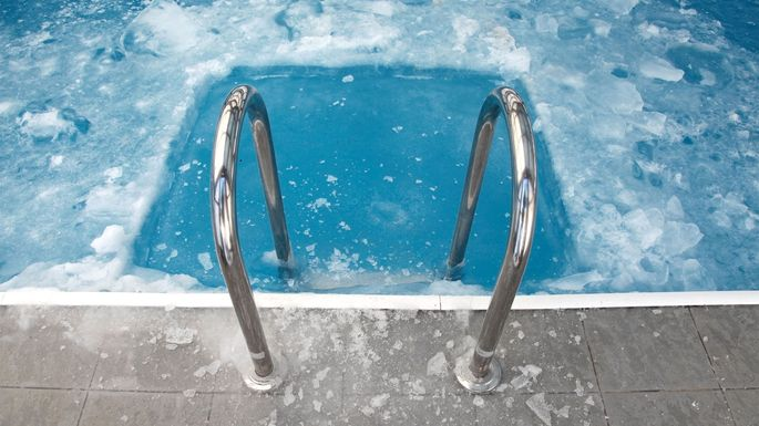 Pool In Winter Eugenesergeev/iStock. As The Seasons Shift, Swimming Pool ...