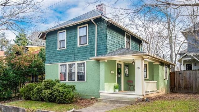 Three-bedroom home in Historic Montford