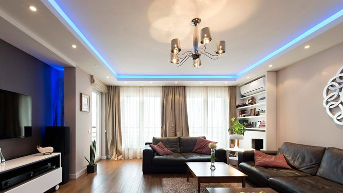 Led Lights Room Dr Interior/iStock