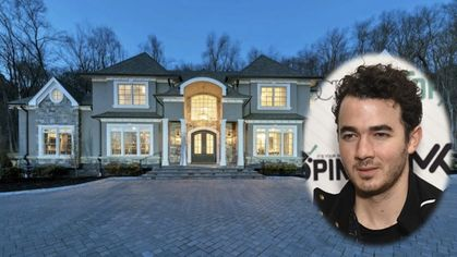 Kevin Jonas Relists $2.48M New Jersey Mansion He Built Himself