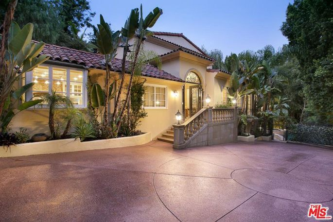 John O'Hurley's Beverly Hills Mediterranean.