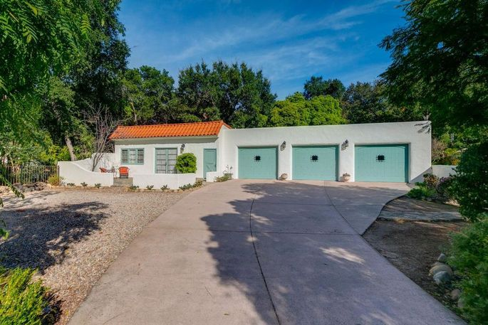 Studio and garage